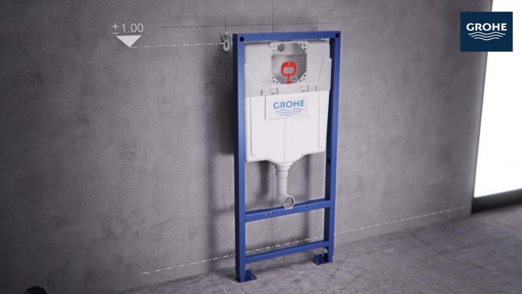 Инсталляция компании GROHE