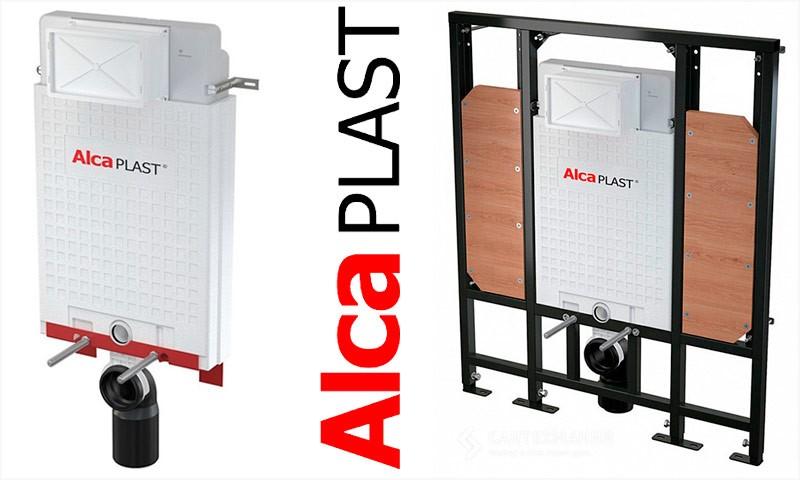 Инсталляция компании ALCAPLAST
